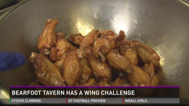 Bearfoot Tavern offers 'wings challenge'