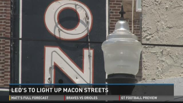 LEDs to light up Macon streets
