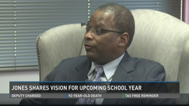 Jones shares vision for upcoming school year