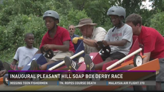 Inaugural Pleasant Hill Soap Box Derby Race