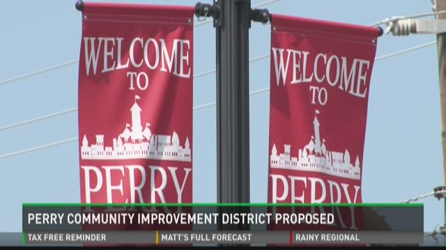 Perry Community Improvement District proposed