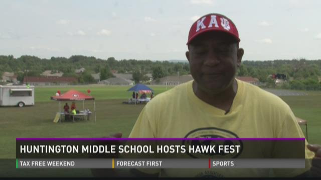 Huntington Middle School hosts Hawk Fest
