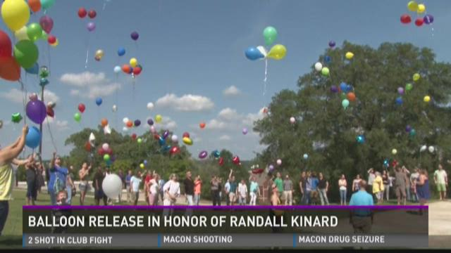 Family, friends gather to remember Randall Kinard