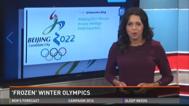'Frozen' Winter Olympics