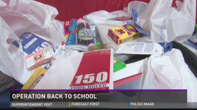 Operation Back to school gives to students in need