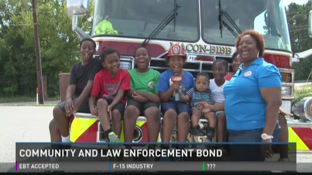 Community and law enforcement bond at 'National Night Out'