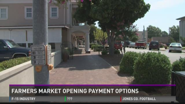 Perry Farmers Market opening payment options
