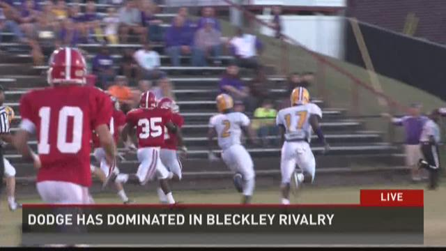 Bleckley and Dodge County football rivalry alive and well