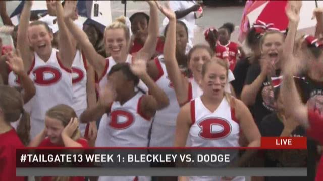 #tailgate13 Week 1: Bleckley vs. Dodge
