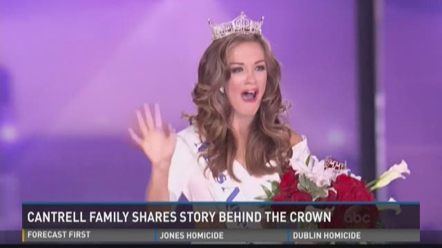 Cantrell family shares story behind the crown   News ...