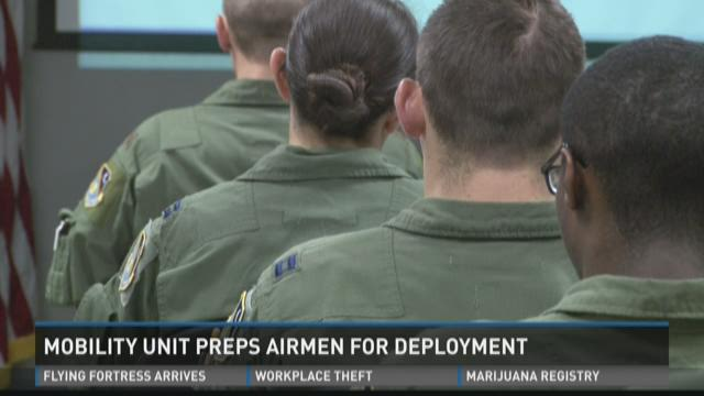 Mobility unit preps airmen for deployment
