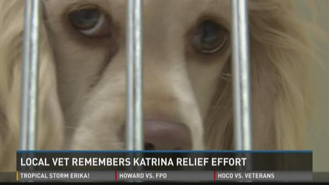 Local vet remembers Katrina relief effort