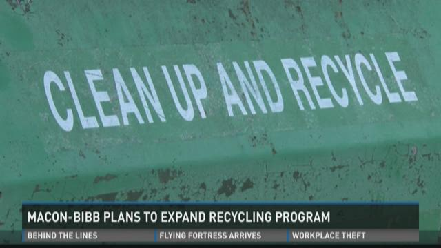 Macon-Bibb plans to expand recycling program