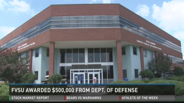 FVSU awarded $500,000 from Department of Defense