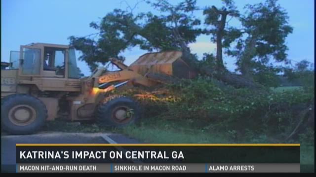 Katrina's impact on Central Ga.