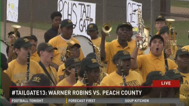 #Tailgate13: Warner Robins vs. Peach County (6pm)