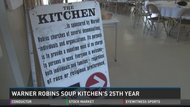 Warner Robins soup kitchen celebrates 25th year