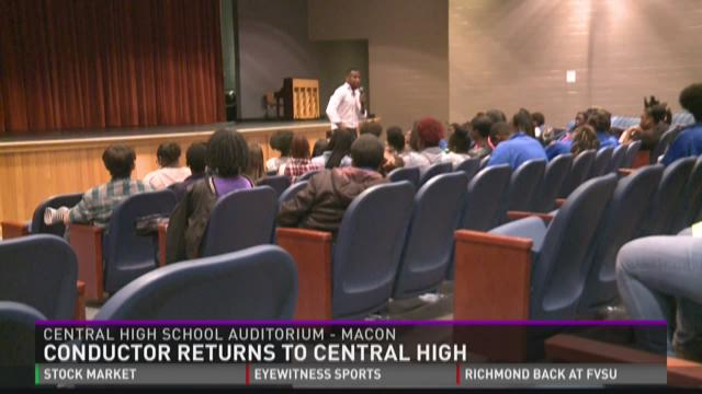 Conductor returns to Central High