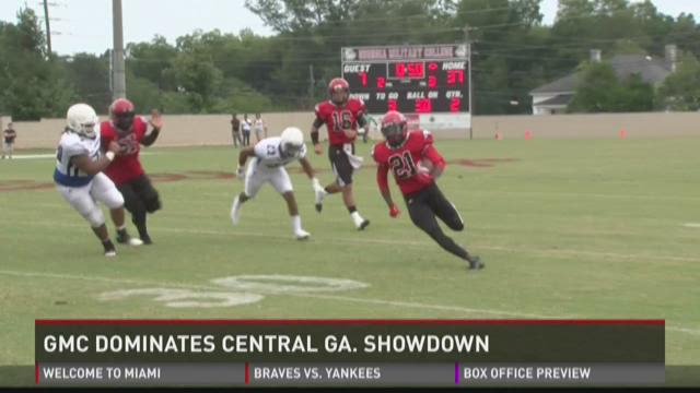 HIGHLIGHTS: GMC thrashes Middle Ga. State