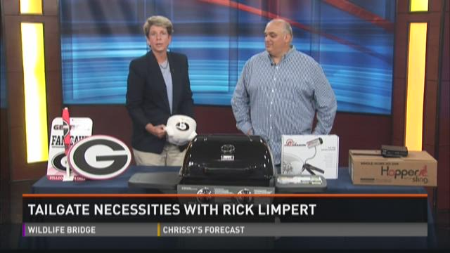Tailgate goodies with Rick Limpert