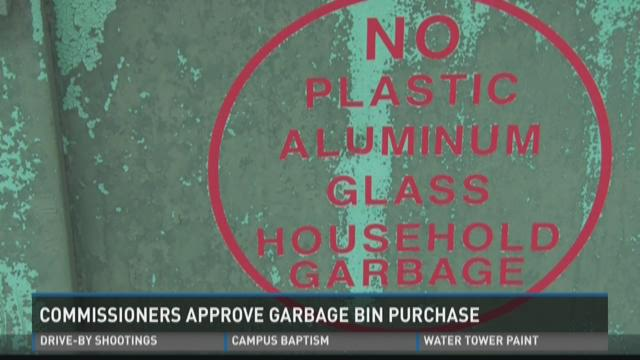 Commissioners Approve Garbage Bin Purchase