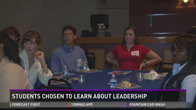 Bibb students learn about leadership