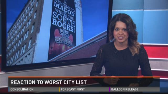 Reaction To Worst City List