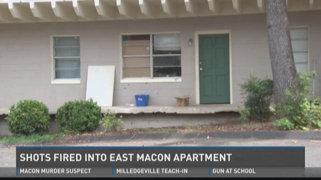 Macon woman speaks out about shooting at her apartment