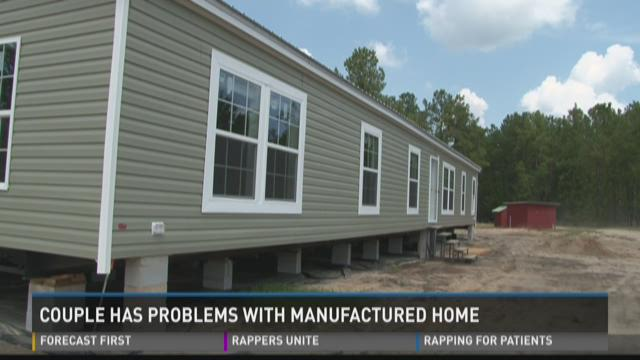 Couple has problems with manufactured home