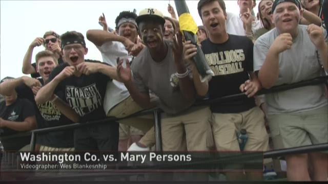 WEEK 3: Mary Persons vs. Washington