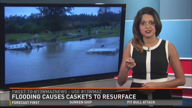 Flooding Causes Caskets To Resurface