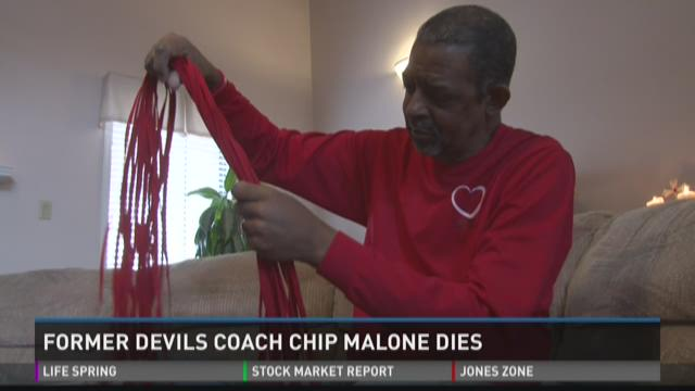 Former Demons coach Chip Malone dies