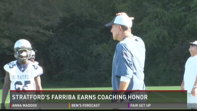 WATCH: Atlanta Falcons honor Stratford's Farriba