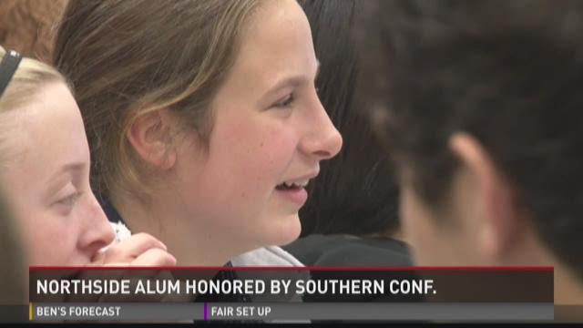 WATCH: SoCon honors Northside alum