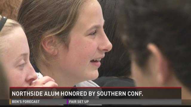 WATCH: SoCon honors Northside alum