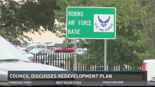 Warner Robins council discusses redevelopment plan