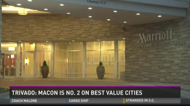 Trivago: Macon is number 2 on 'Best Value Cities' list