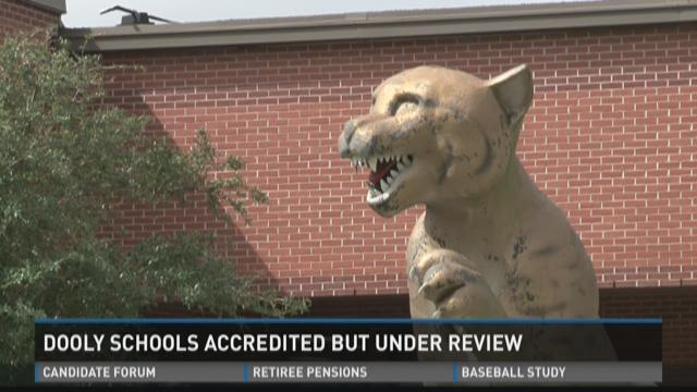 Dooly schools accredited but under review