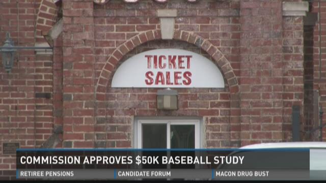 Macon-Bibb Commissioners approve a $50K baseball study