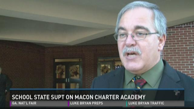 School state superintendent on Macon Charter Academy