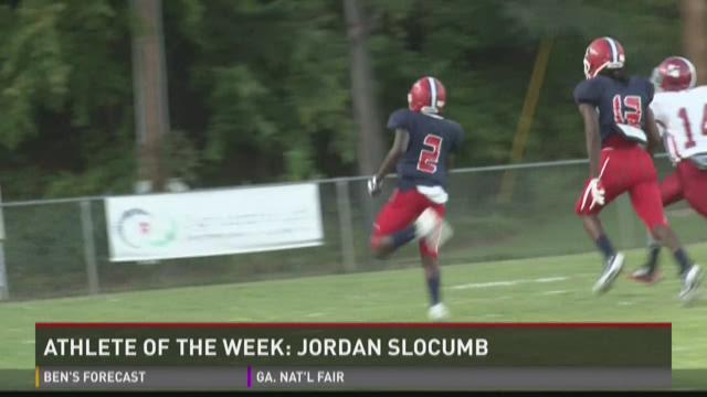 Athlete of the Week: Jordan Slocumb