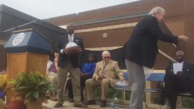 Taylor County high gym renamed in honor of coaches