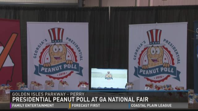 Presidential Peanut Poll at Ga. National Fair
