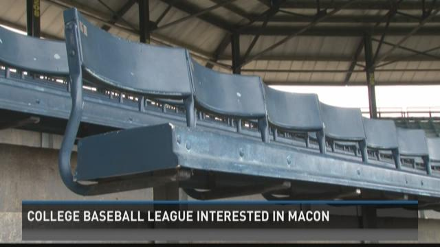 College baseball league interested in Macon