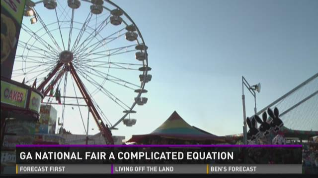Ga. National Fair a complicated equation
