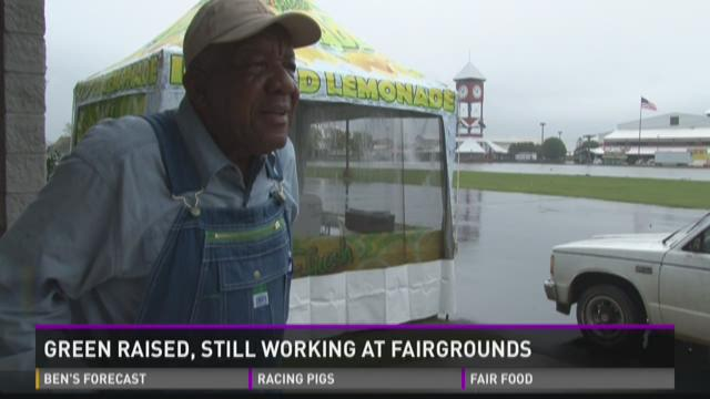 Carlton Green raised, still working at Fairgrounds