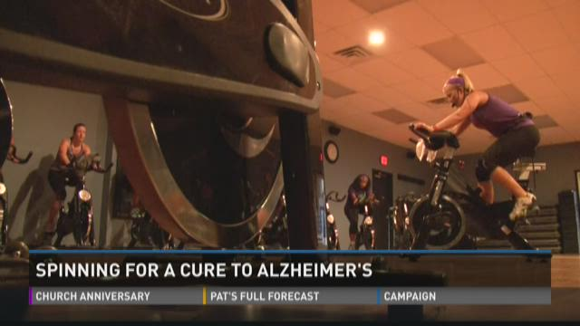 Spinning for a cure for Alzheimer's