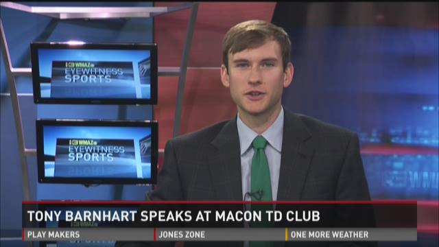 WATCH: Tony Barnhart speaks at Macon TD Club