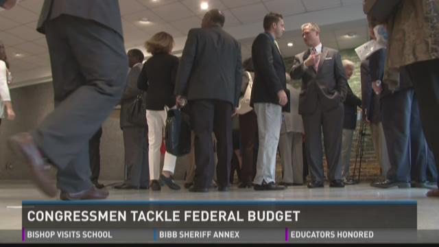 Congressmen tackle federal budget