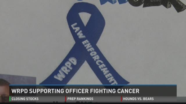 WRPD supporting officer fighting cancer